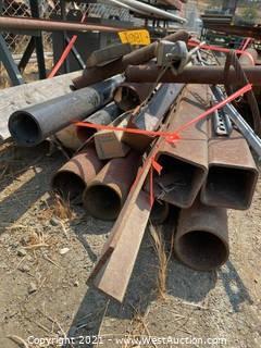 Bulk Lot: Assorted Steel Pipes, Tubing & PVC