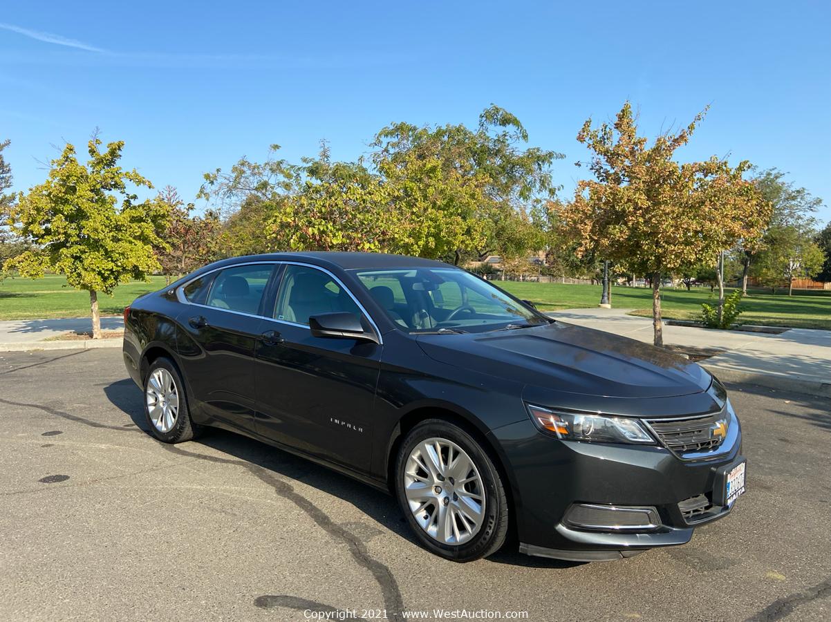 Court Ordered Auction of 2014 Chevrolet Impala LS Sedan