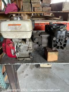 D30 Hydro Pump With Honda Motor