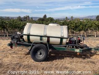 500 Gallon Elliptical Fertilizer Trailer