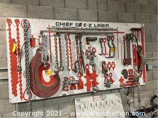 Chief EZ Liner Body Squaring And Alignment System Accessories And Rack