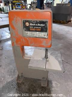 Black And Decker Drill Powered Band Saw