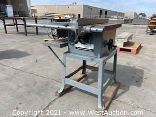 Delta Model 10 Contractors Table Saw