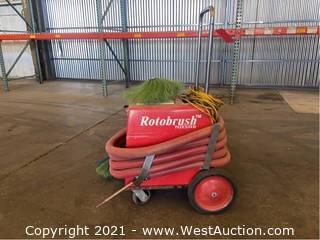 Rotobrush Air Duct Cleaner