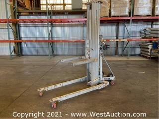 Genie Superlift Contractor Material Lift