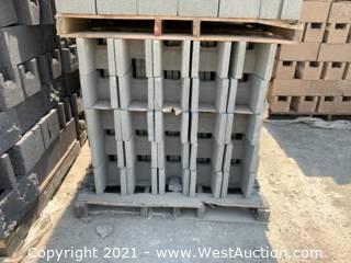 (4) Pallets of 8x8x16 DOE Bond Beam