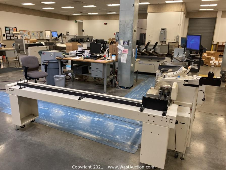 Online Auction of Pitney Bowes Mailstream Evolution Inserting System 14F