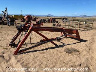 FarmHand F11 Hydraulic Loader Attachment (For Parts)