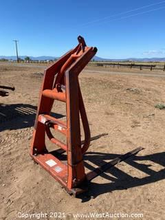 Sperry Rand New Holland 3 Point Round Bail Mover