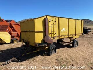 Coolee WB Chopped Hay Wagon