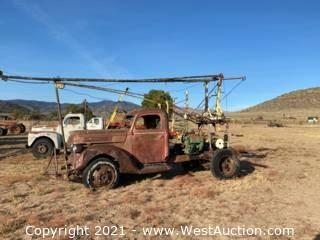 Ford Bale Mover Truck