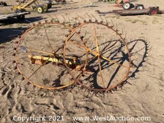 2-Wheel Rake Implement