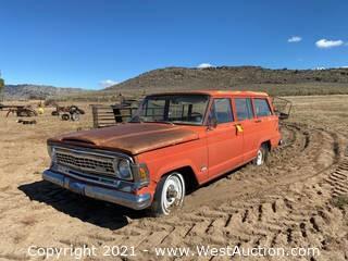 1972 Jeep 360 Wagoneer