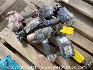 (3) Pneumatic Coil Nailers