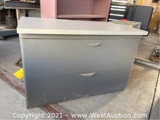 Metal Cabinet Desk