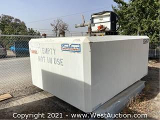 Convault Concrete 2,000 Gallon Diesel Tank with Gasboy Fuel Dispenser