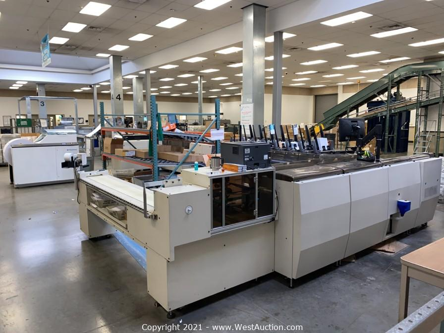 Online Auction of Pitney Bowes Mailstream 26/Y508 Productivity Series