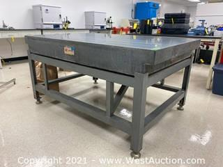 """Mojave 71.5""""x47.5""""x8.5"""" Precision Granite Surface Inspection Table"""