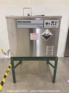 Branson IC1620-40-18 Integrated Ultrasonic Cleaner on Stand
