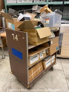 Cart And Contents; Electrical Supply, Exit Sign, Lights, Control Interfaces