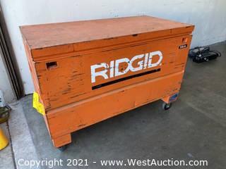 Ridgid Rolling Job Box